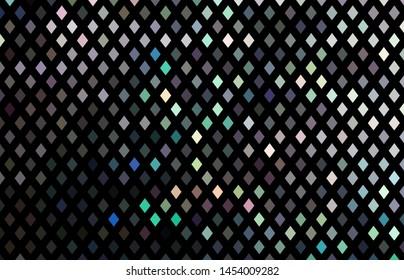 Mirror crystals mosaic hologram texture. Shimmer festive dark background.