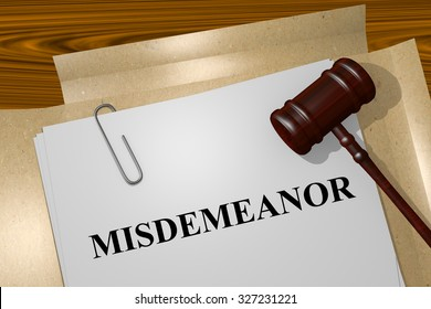 Misdemeanor Title On Legal Documents