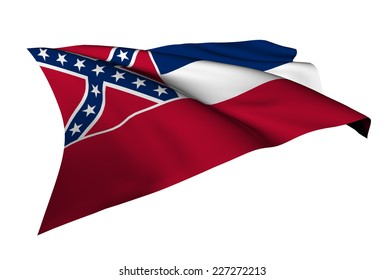 Mississippi flag - USA state flags collection no_4