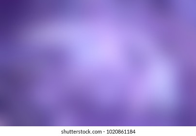 Mistery lilac glare empty background. Violet blue gleam abstract texture. Romantic glow blurred illustration. Magical defocused image.