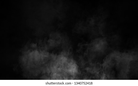 Mistery smoke background. Abstract fog texture overlays for copyspace
