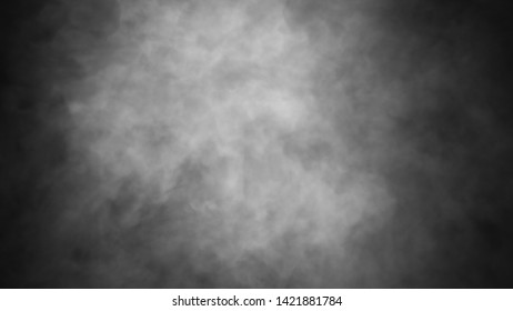Mistery smoke background. Abstract fog texture overlays for copyspace.
