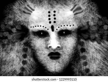 mistic form, past incarnation, shaman