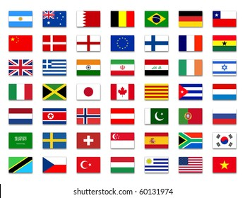 vector file waving g 20 flags border stock vector royalty free rh shutterstock com