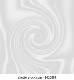 mmmm creamy! - milk swirl.