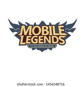 mobile legend games ilustration logo