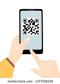 Mobile phone code to pay