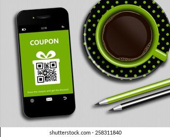 Qr Code Green Images, Stock Photos & Vectors | Shutterstock