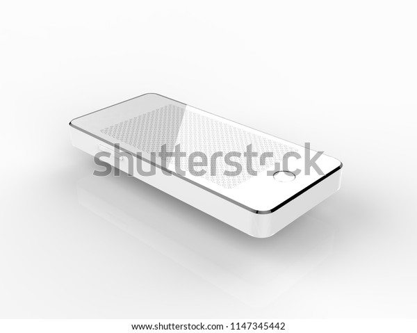 mobile router 3d rendering