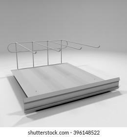 Mock up Display Tray
