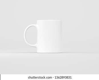 Mock up mug studio shot | 3D rendering