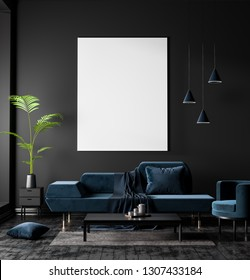 Living Room Canvas Mockup Images Stock Photos Vectors Shutterstock