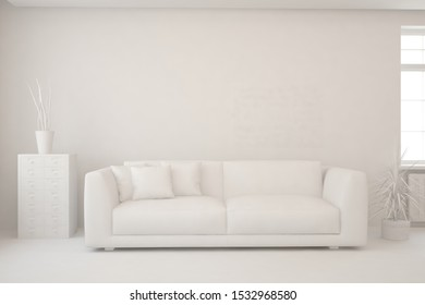 Modern Living Room Mockup Images Stock Photos Vectors