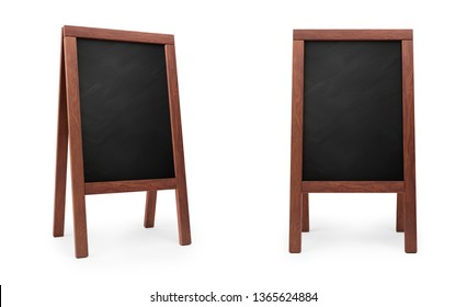 mockup menu blackboard, 3D rendering