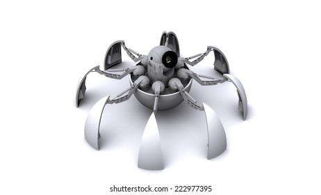 Model of spider robot