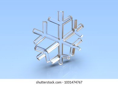 modeling three-dimensional radial three-dimensional snowflake