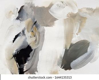 Modern Abstract Art Painting. Modern art. Contemporary art.