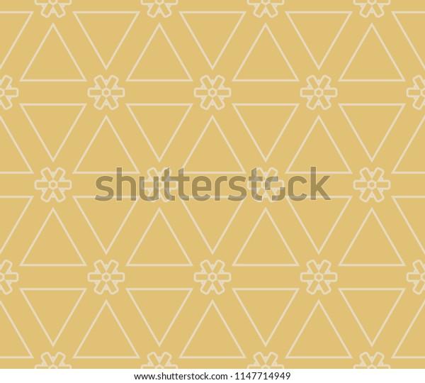 Modern abstract geometric pattern.   illustration. for invitation, wedding, wallpaper