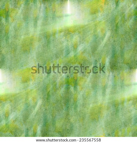 modern art avant-guard texture background wallpaper vintage green, yellow pattern hand-drawing