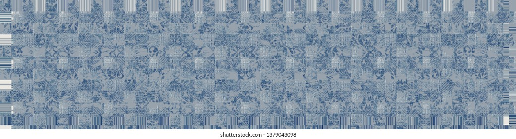 modern  art vintage artistic stylish runner, carpet, kilim pattern design for bedroom, kitchen, doorway, summery decorative