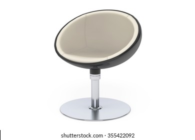 Modern Ball Chair On A White Background
