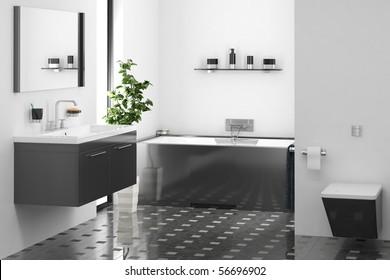 modern bathroom