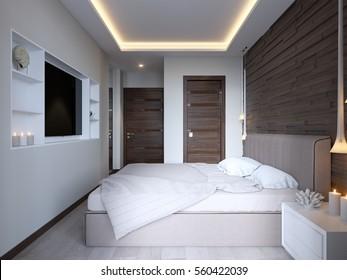 Led Lighting Bedroom Images Stock Photos Vectors Shutterstock