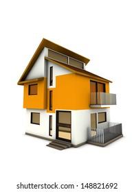 modern big home