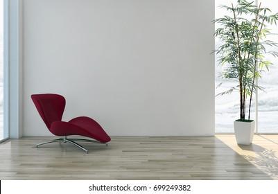 New scene 3 d rendering interior design stockillustration 586333094