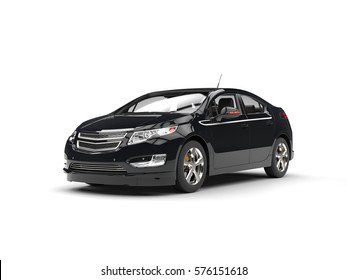 Modern business black car - 3D Illustration