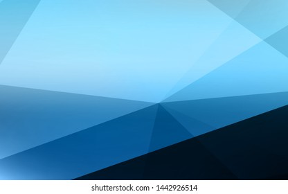 Modern colorful transparent triangles abstract background illustration