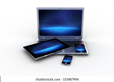 modern computers and pad