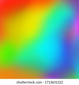 Modern creative art rainbow background