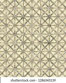 modern elegance geometric ogee pattern on vintage background. Art deco  design  in retro colors.  illustration vintage Islam, Arabic, turkish, Japanese, ottoman motifs