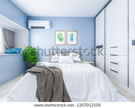 Royalty Free Stock Illustration Of Modern Family Bedroom Design
