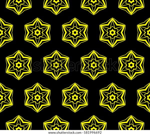 Modern geometric seamless pattern. For design, page fill, wallpaper. Raster copy illustration