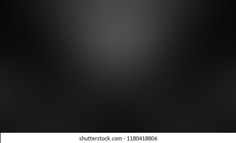 Modern gradient background with degrade fragments and with the shape of the painting. Blurred spots. Template for banner or presentation. Black, wet asphalt, shale gray and dark grey color.