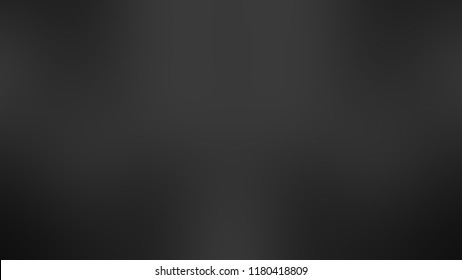 Modern gradient background with degrade fragments and with the shape of the painting. Blurred spots. Template for banner or presentation. Black, shale gray, wet asphalt and dark graphite color.