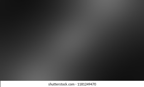 Modern gradient background with degrade fragments and with the shape of the painting. Blurred spots. Template for banner or presentation. Black, white, shark, nero, delta and bright grey color.