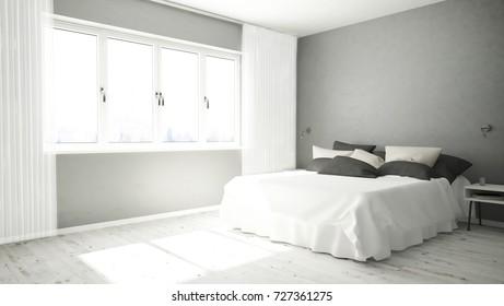 48d Bedroom Images Stock Photos Vectors Shutterstock Simple Bedroom 3D Design