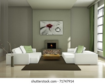 Interiors - Ready for Canvas Art Prints Service