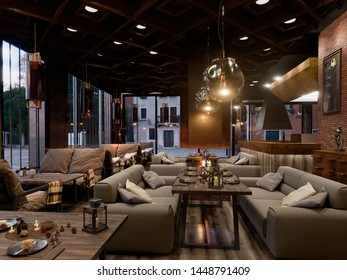 Cafe Bar Interior Images, Stock Photos & Vectors | Shutterstock