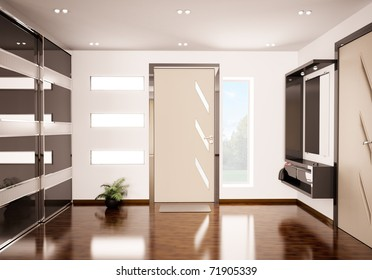 Porte D\'entrée Moderne Stock Illustrations, Images & Vectors ...