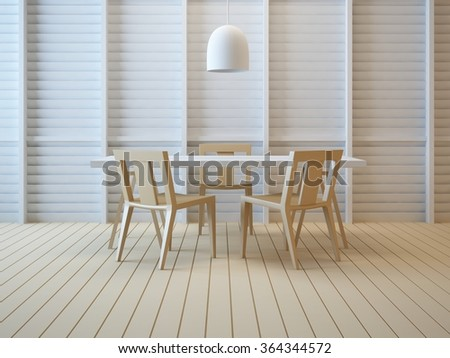 Modern interior working room office d stock illustration