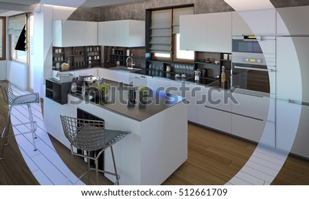 Modern Kitchen Interior Design 3 Custom Decorating