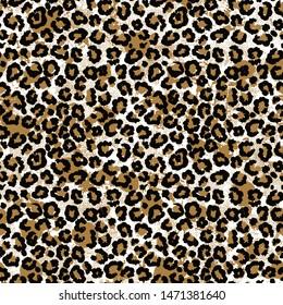 Modern leopard and animal pattern design. Fashion pattern.