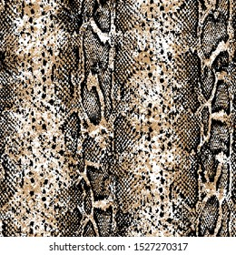 Modern leopard pattern. Animal pattern. Snake pattern.