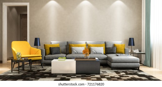 Excellent Wallpaper With Grey Sofa Stock Illustrations Images Pabps2019 Chair Design Images Pabps2019Com