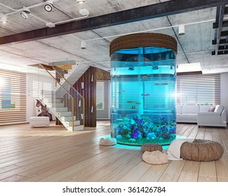 Home Aquariums Stock Illustrations Images Vectors