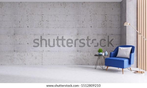 Modern Loft Living Room Decorating Ideas Stock Illustration 1512809210